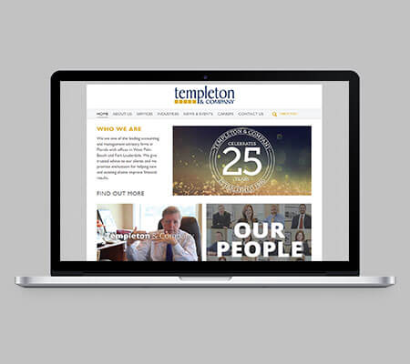 Templeton & Co Website
