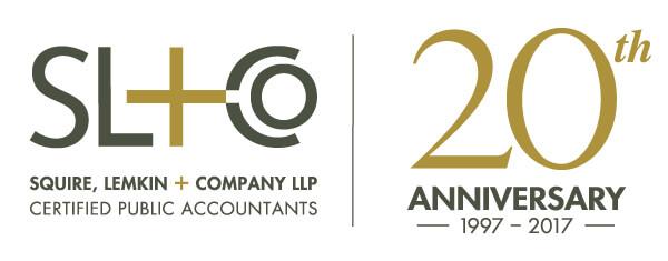 Squire Lemkin CPAs 20th Anniversary mockup