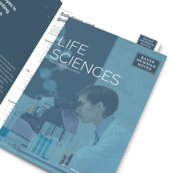 Baker Newman Noyes Life Sciences Brochure