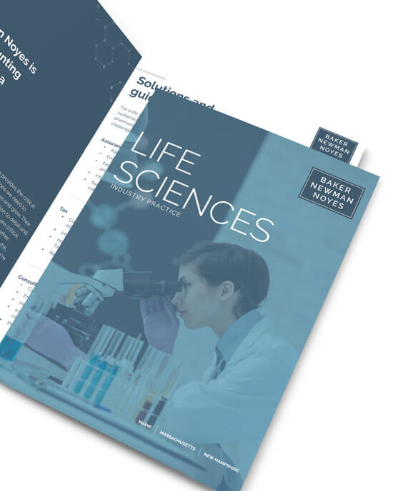 BNN life sciences brochure feature image