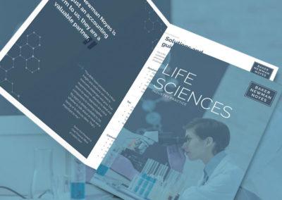 Baker Newman Noyes –Life Sciences Brochure