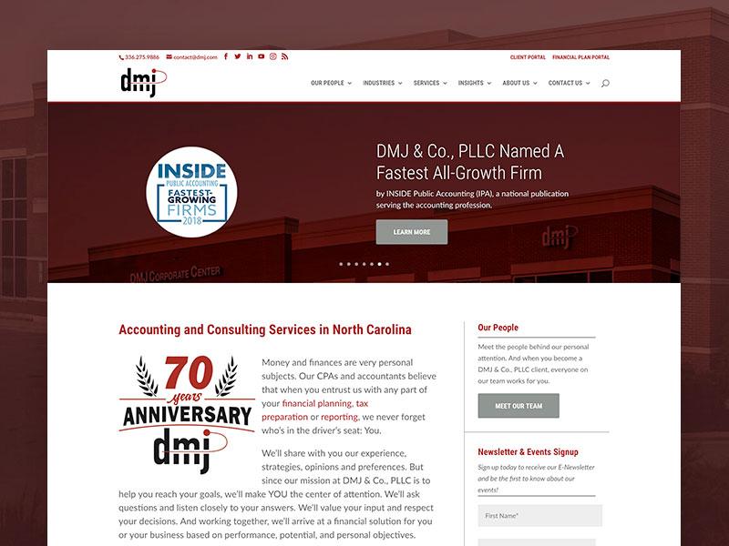 DMJ & Co –Website