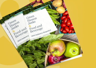 Green Hasson Janks – Food & Beverage White Paper