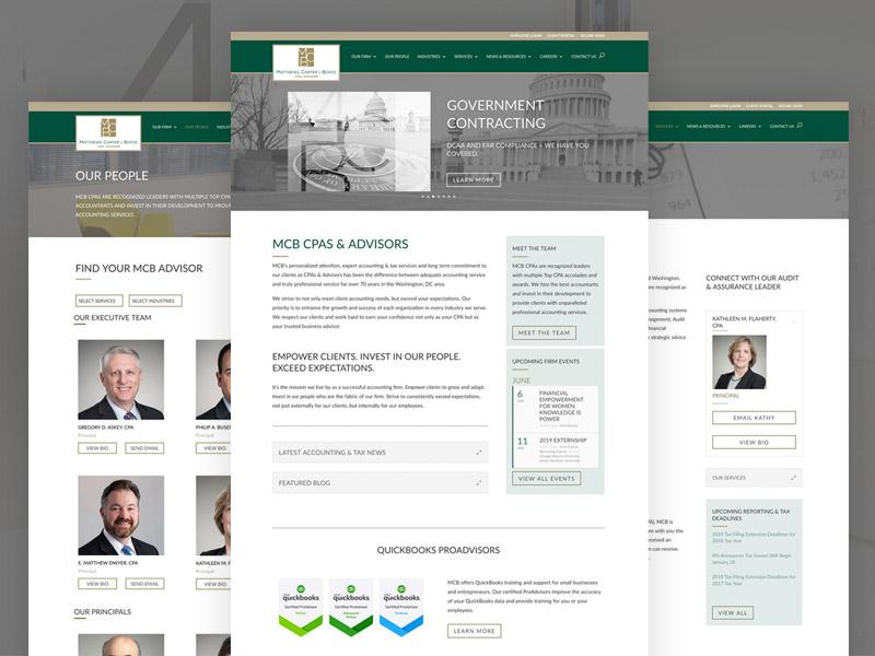 Matthews, Carter & Boyce –Website