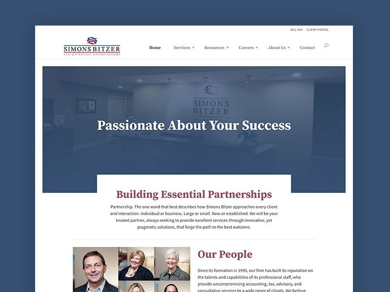 Simons Bitzer CPAs –Website
