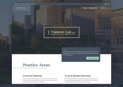 J Timmons Law – Website