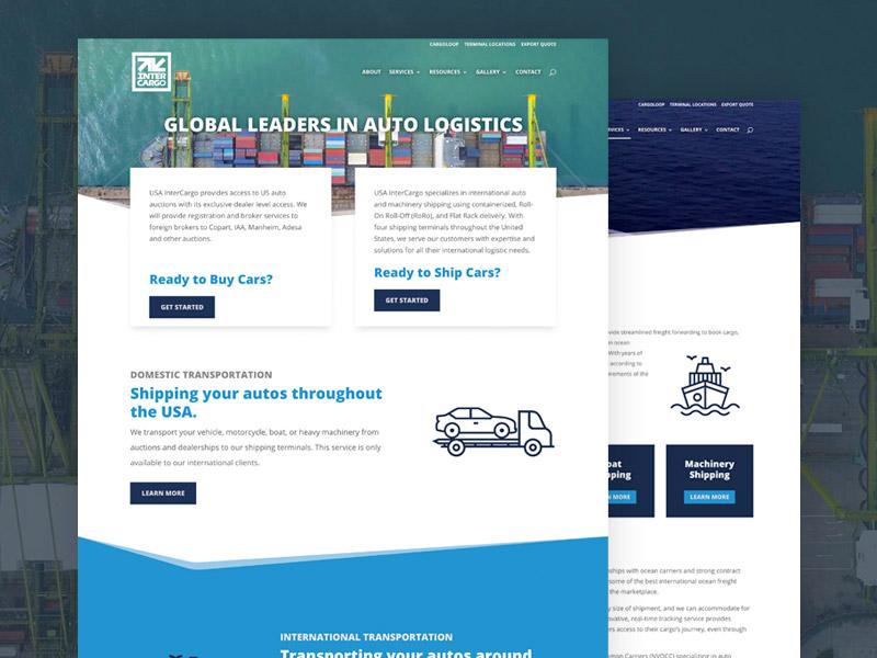 USA Inter Cargo –Website