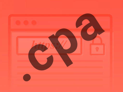 Catalyst Article on .cpa TLD - Graphic
